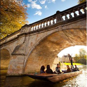 Clare Bridge - screenshot from university flickr - square