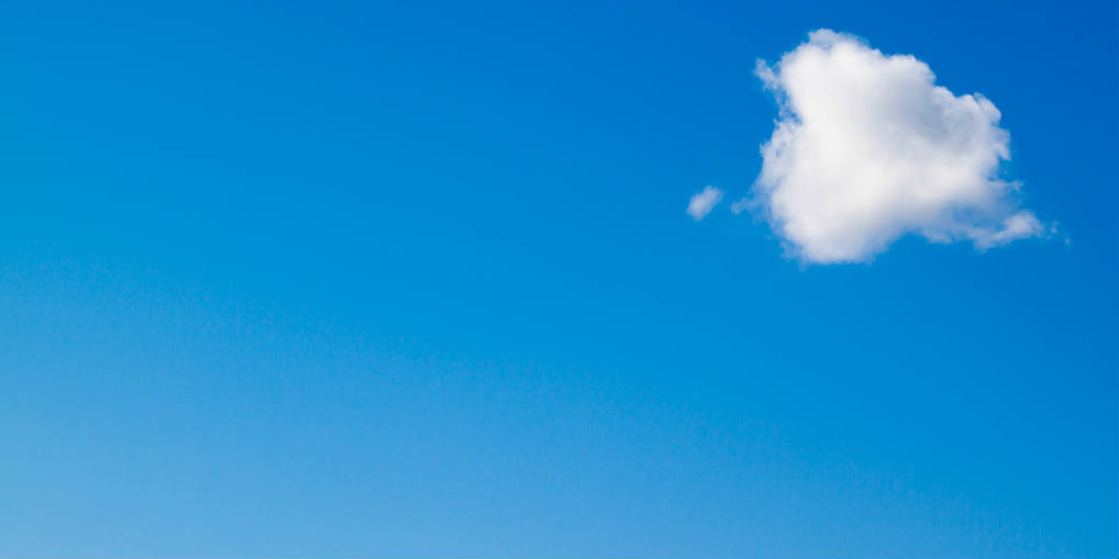Blue sky and cloud - Flickr Commons - BANNER