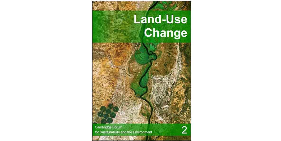 Land use change - report cover
