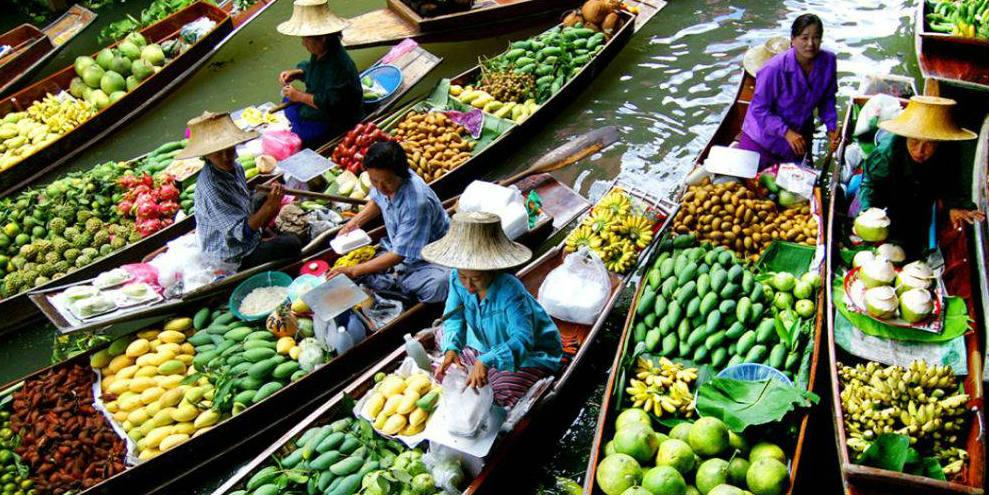 Floating market - BANNER