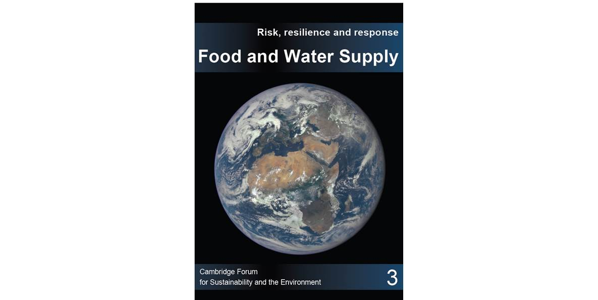Food and water supply resilience - report cover