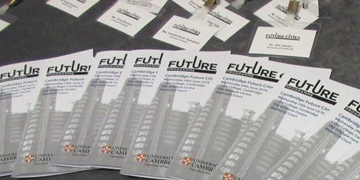 Future Cities conference leaflets - BANNER