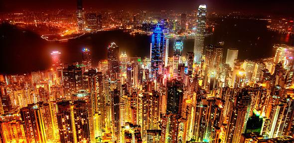 Hong Kong skyline - Ben Spreng