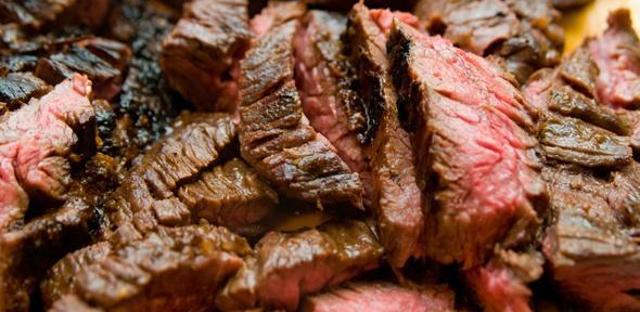 ...eat meat! by James Vaughn