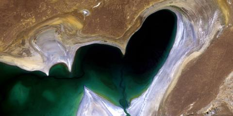 ESA - The heart of Central Asia