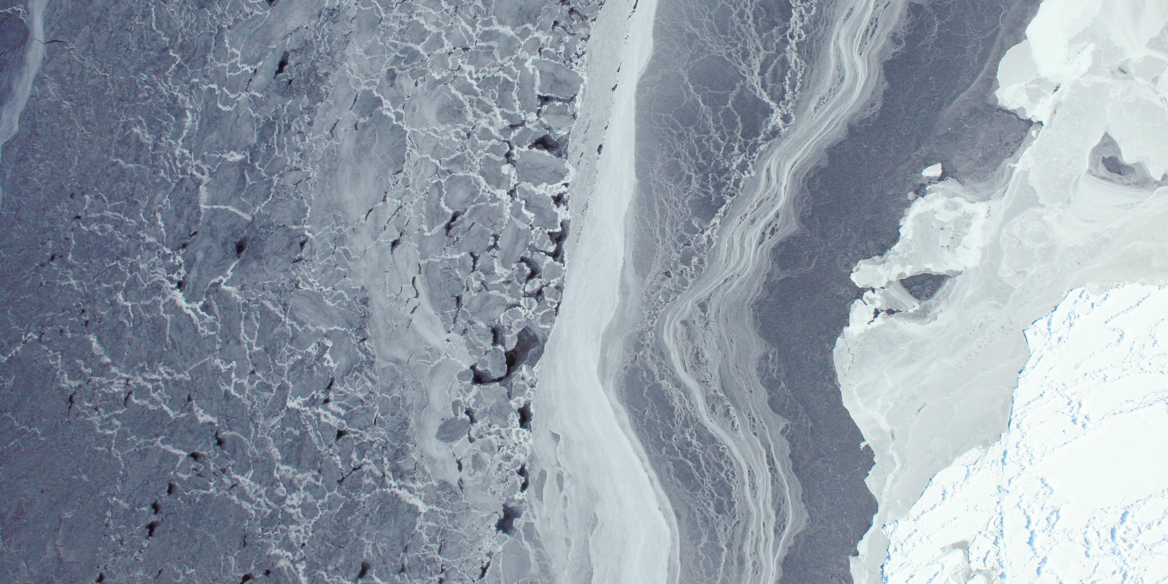 NASA - Antarctic ice break-up